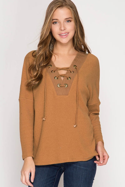 The Caramel Sweater