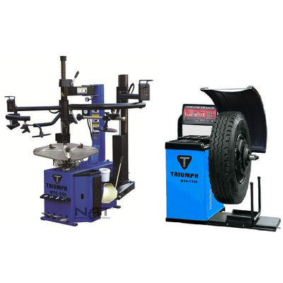 NTC-950-2 Tire Changer NTB-1200 Wheel Balancer Combo