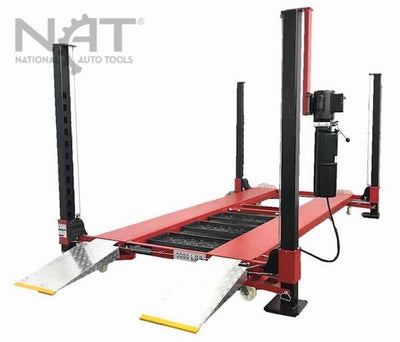 NOS9000XLT Car Lift Four Post Auto Parking Lift Longer and Taller