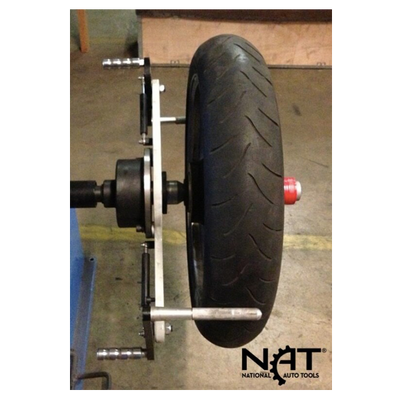 NTB-AS Wheel Balancer Motorcycle Adapters