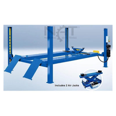 NTR-12A 12,000 lb Alignment Four Post Auto Lift