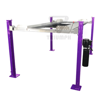 Plum Crazy 8,000 lb. Service Storage Four Post Automotive Lift
