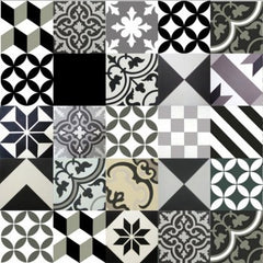 "12""X 12"" Encaustic Cement Tiles"
