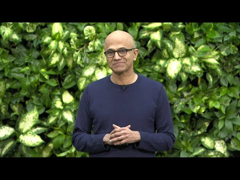 Microsoft CEO Satya Nadella on Microsoft's Commitment to Become Carbon Negative by 2030
