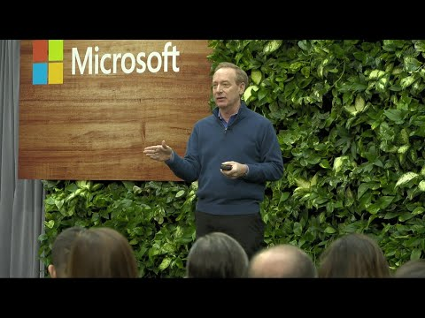 Microsoft President Brad Smith on Microsoft's Commitment to Become Carbon Negative by 2030