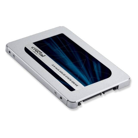 Crucial MX500 250GB 2.5 inch SATA3 Internal Solid State Drive (Micron 3D TLC NAND)