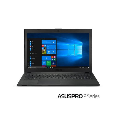 ASUS PRO P2540UB-XB71 15.6 inch Intel Core i7-8550U 1.8GHz/8GB DDR4/256GB SSD/ USB 3.0/ Windows 10 Professional Ultrabook (Black)