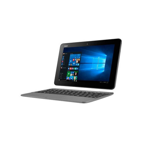 Asus Transformer Book T101HA-C4-GR 10.1 inch Touchscreen Intel Cherry Trail x5-Z8350 1.44GHz/ 4GB DDR3/ 64GB eMMC/ Windows 10 Tablet (Gray)