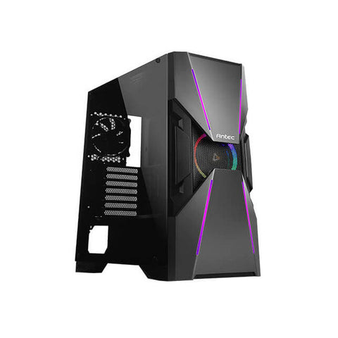 Antec DA601 No Power Supply ATX Mid Tower (Black)
