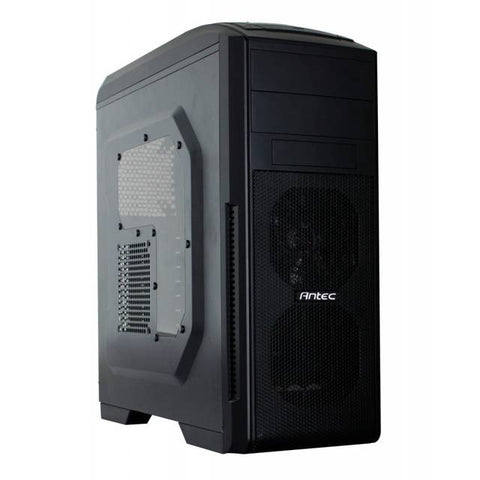 Antec GX500 WINDOW No Power Supply ATX Mid Tower Case (Black)