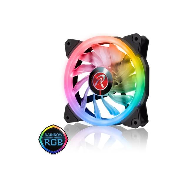 RAIJINTEK IRIS 12 RGB 256-3 120mm Case Fan (3 pack)