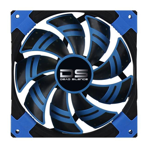 AeroCool Dead Silence 120mm Blue Case Fan