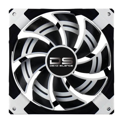 AeroCool Dead Silence 120mm White Case Fan