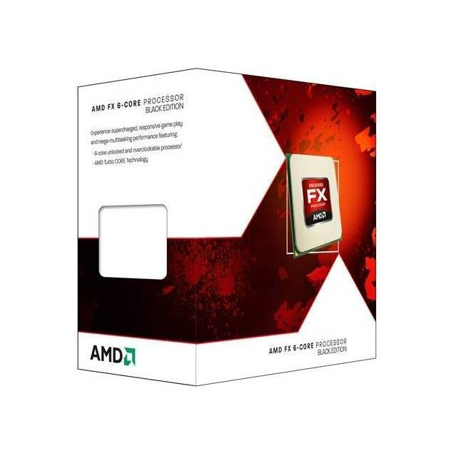 AMD FX-6300 Six-Core Vishera Processor 3.5GHz Socket AM3+, Retail