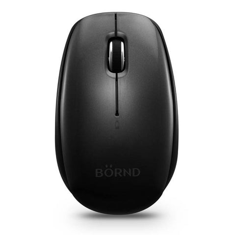 Bornd C170B Wireless Bluetooth 3.0 Optical Mouse (Black)