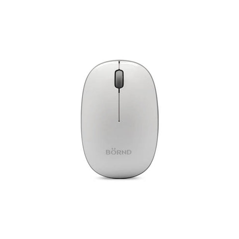 Bornd E220 Wireless 2.4Ghz Optical Mouse (White)