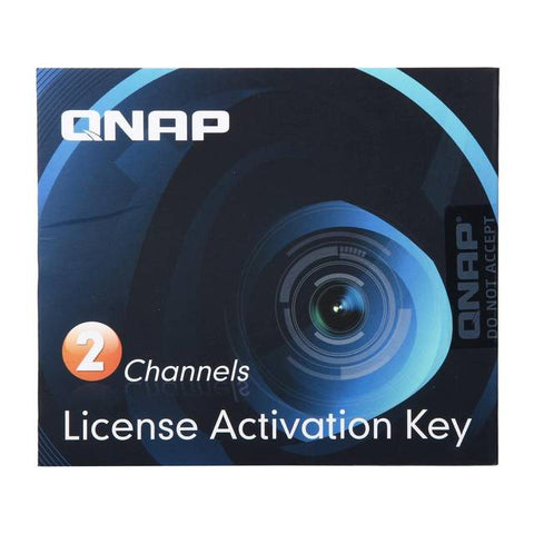 QNAP LIC-CAM-NAS-2CH 2 Camera License Activation Key for Surveillance Station Pro