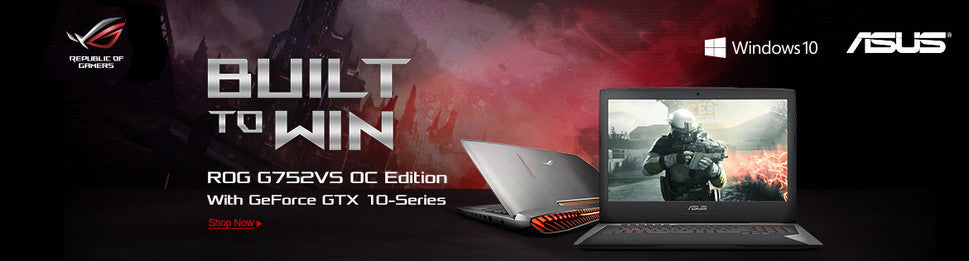 ASUS Built to Win