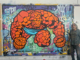 "SEEN ""The Thing"" Aerosol on Canvas"