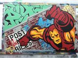 "SEEN  - ""Iron Man 2"" Aerosol on Canvas"