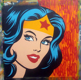 "SEEN - ""Wonder Woman"" Aerosol on Canvas"
