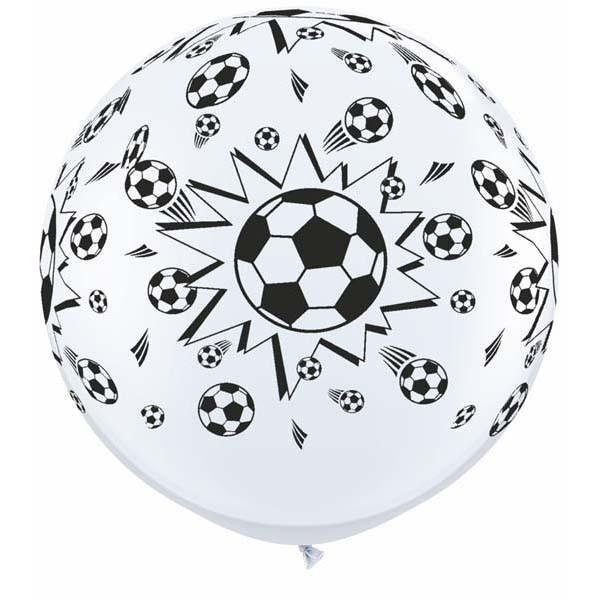 3ft - Soccer Balls White
