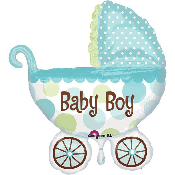 Supershape - Baby Boy Buggy Pram