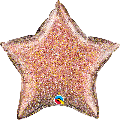 "18"" - Plain Glittergraphic Star"
