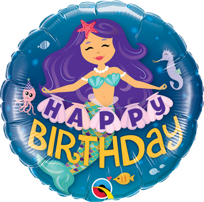 "18"" - Birthday Mermaid"