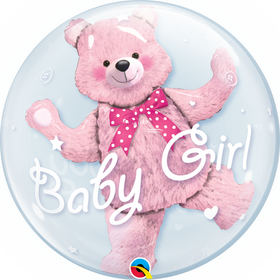 Double Bubble - Baby Pink Bear