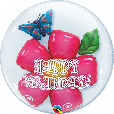 Double Bubble - Birthday Flower