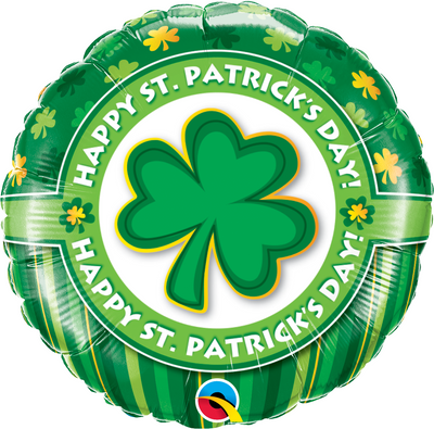 "18"" - Happy St. Patrick's Day"