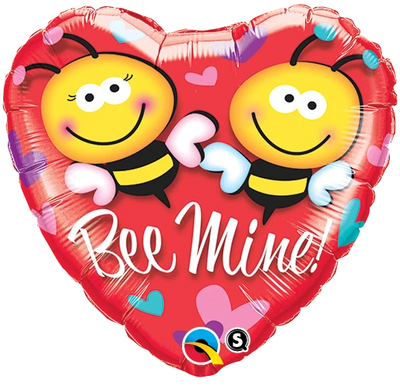 "18"" - Heart Bee Mine!"