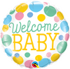 "18"" - Welcome Baby Dots"