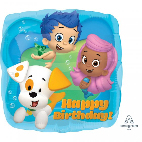 "18"" - Bubble Guppies Happy Birthday"