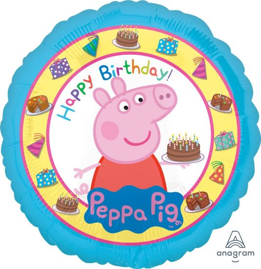 "18"" - Peppa Pig Happy Birthday"