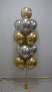 Cluster of 13 Balloons
