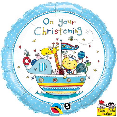 "18"" - On Your Christening Blue"