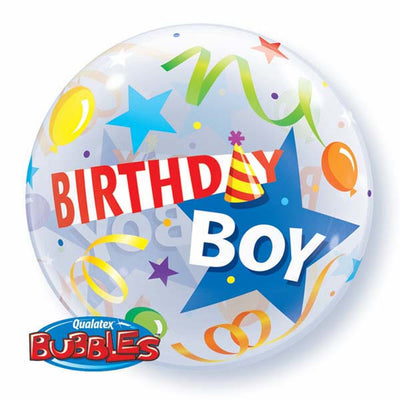 Bubble - Birthday Boy Party Hat