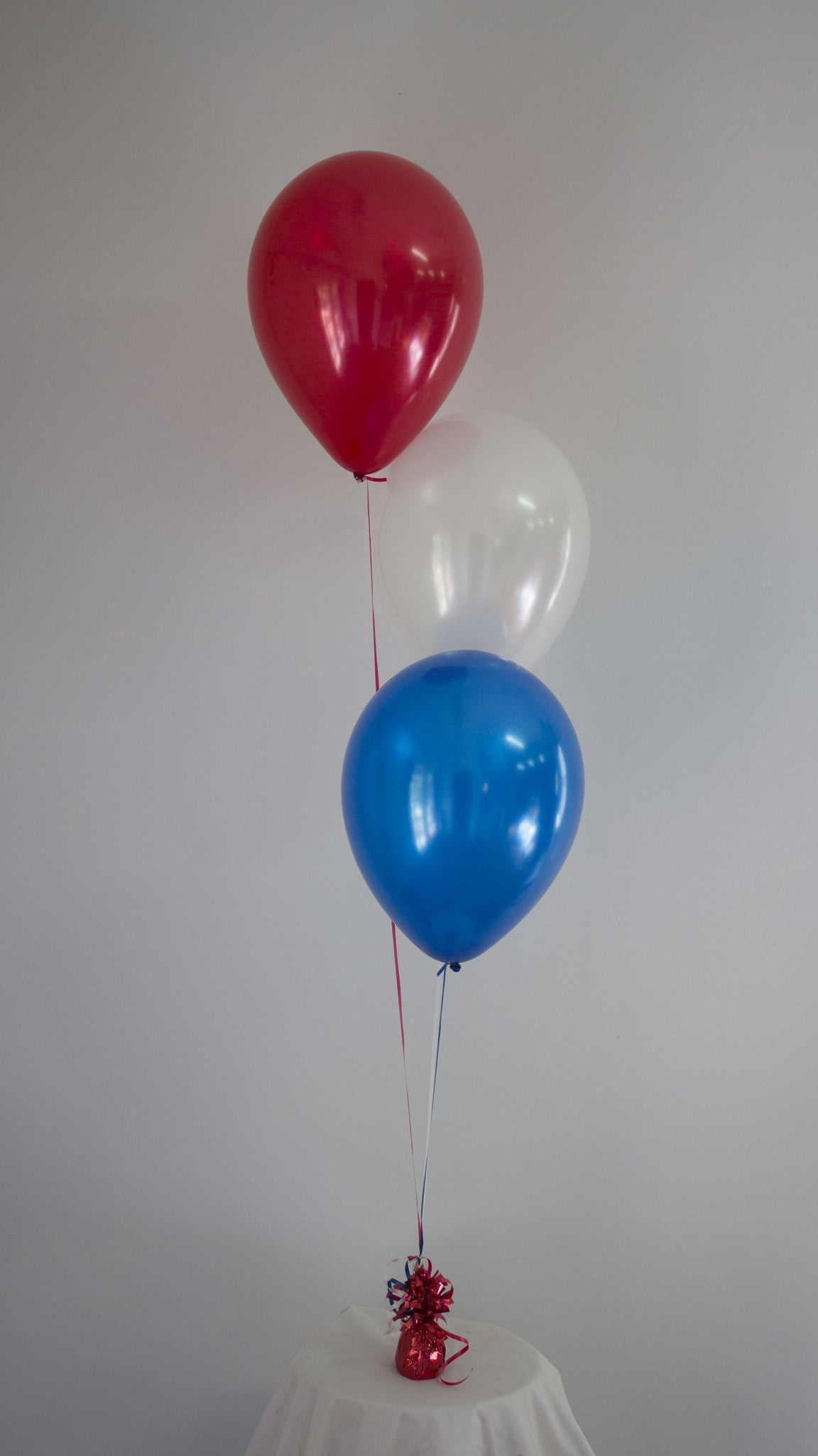 Cluster of 3 Balloons