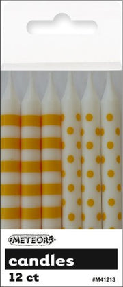 Candles - Dots & Stripes Candles