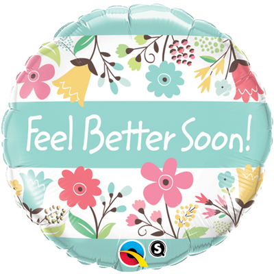 "18"" - Feel Better Soon! Floral"