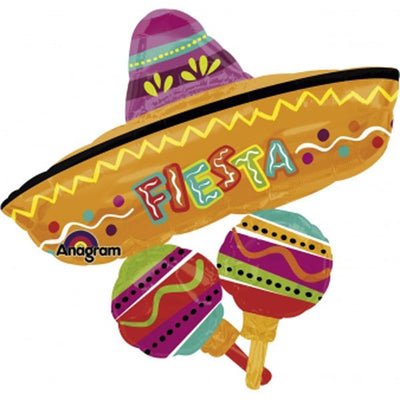 Supershape - Fiesta Fun Hat & Maracas