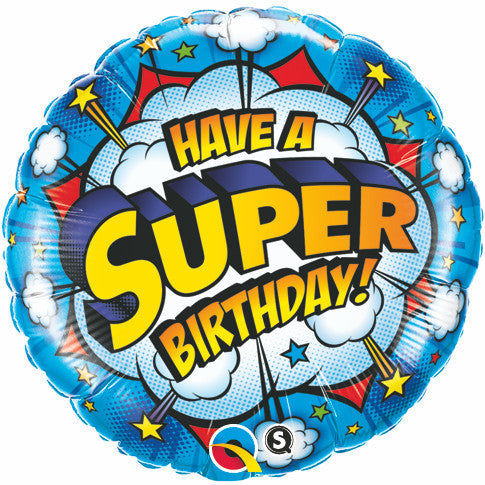 "18"" - Have A Super Birthday!"