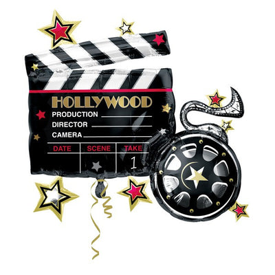 Supershape - Hollywood Clapboard & Reel