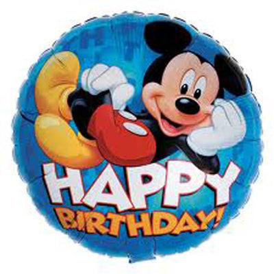 "18"" - Mickey Mouse Happy Birthday!"