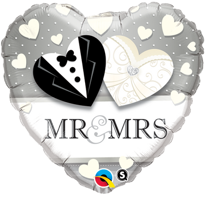 "18"" - Mr. & Mrs. Wedding"