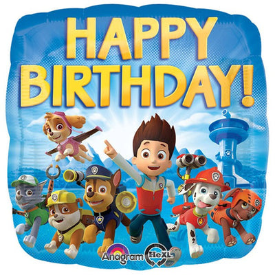 "18"" - Paw Patrol Happy Birthday"