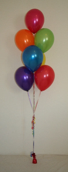 Cluster of 7 Balloons