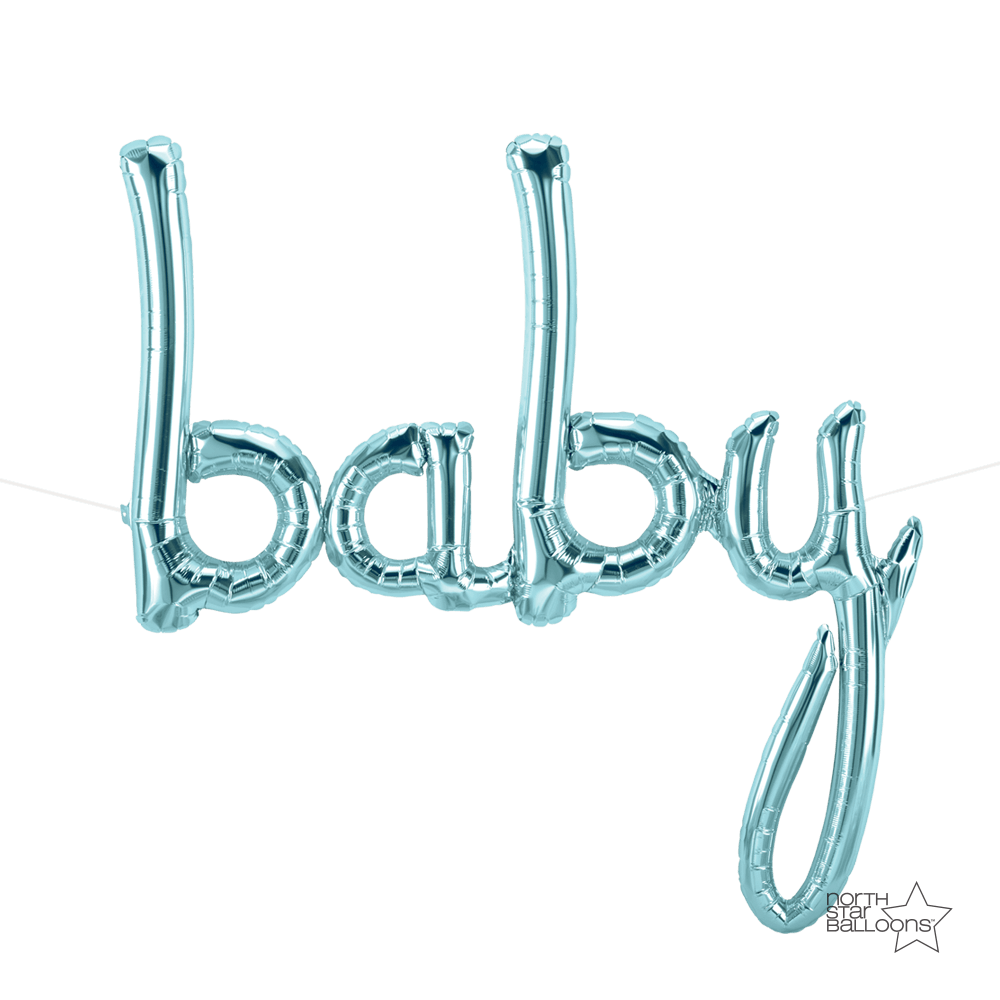 Script - Baby Pastel Blue Air Fill Only